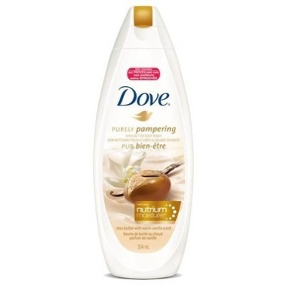 Dove Purely Pampering Body Wash with Nutrium Moisture 354mL - Shea Butter with Warm Vanilla Scent