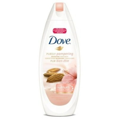 Dove Purely Pampering Body Wash with Nutrium Moisture 354mL - Almond Cream with Hibiscus