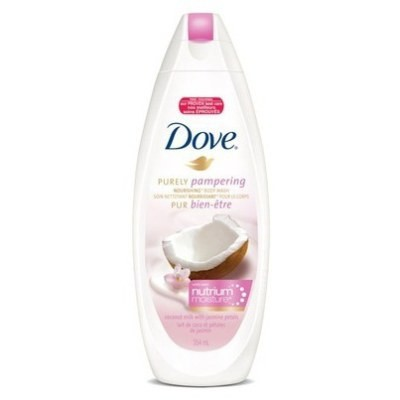 Dove Purely Pampering Body Wash with Nutrium Moisture 354mL - Coconut Milk with Jasmine Petals
