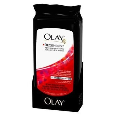 Olay Regenerist Micro-Exfoliating Wet Cleansing Cloths 30 Cleansing Cloths