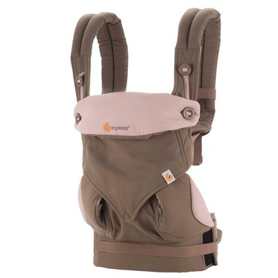 ErgoBaby 360 Baby Carrier - Taupe-Lilac