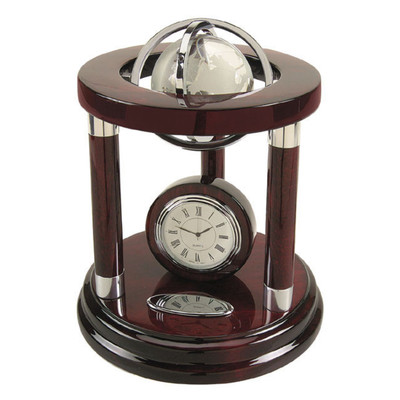 "Galaxy Globe and Clock 8"""