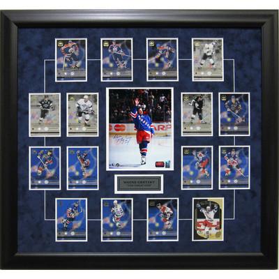 Wayne Gretzky Signed Retirement Upper Deck Card Set - Waving Good Bye