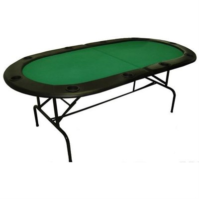 "Folding poker table HD - 10 joueurs (84"")"