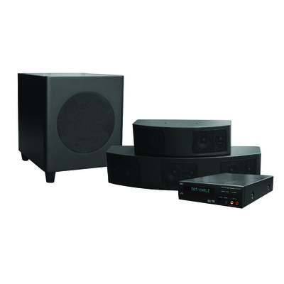 Niro HPS 1000 - 5.1 Home Theatre Surround System (Niro-HPS 1000)