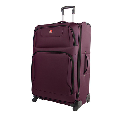 """Swiss Gear Monte Leone Collection 24"""" Upright Expandable Spinner"""