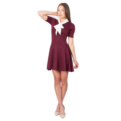 Tetiana K Women's Scout Dress, Maroon