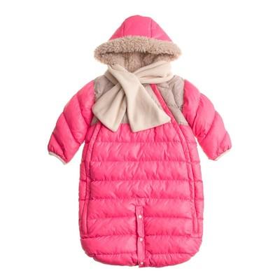 7 AM Enfant Doudoune Neon Pink
