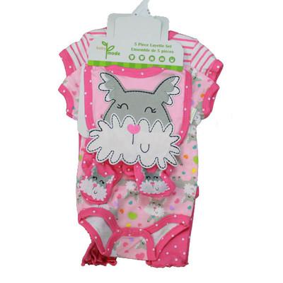Baby 5 Piece Set - Pink