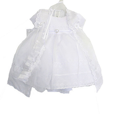 Baby / Infant Christening Dress - White