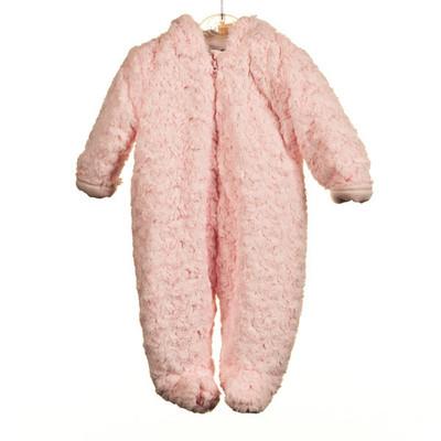 Baby Rosebud Pram Jacket - Pink
