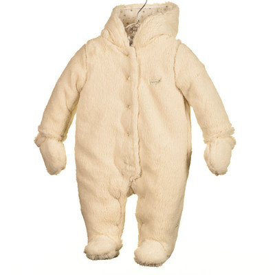 Baby Super Plush Pram - Ivory