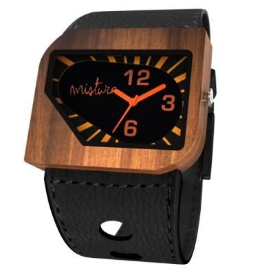 Avanti Wood Watch