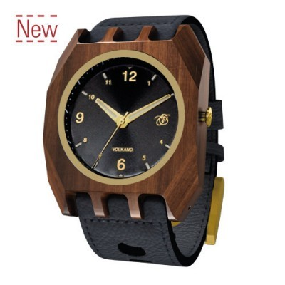 Volkano Wood Watch
