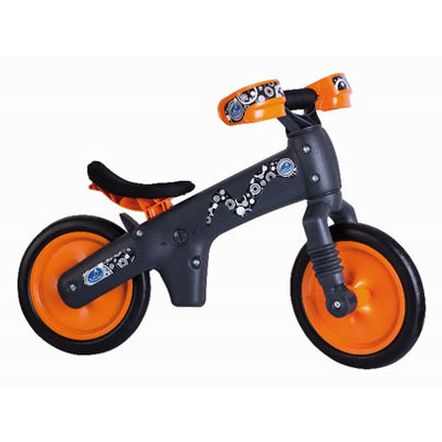 Balance Bike B-BIP Orange / Grey
