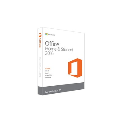 Microsoft Office Home and Student Edition 2016 English Medialess (79G-04368)