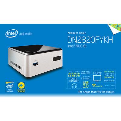 Intel NUC - Mini PC with wireless keyboard