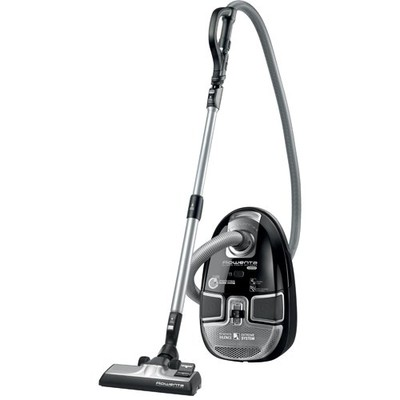 Rowenta Vacuum Cleaner - Canister - Compact - Black