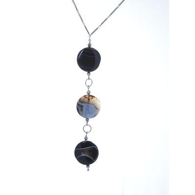 Armoir Bacopa 'Sardonyx Stone' Hanging Necklace
