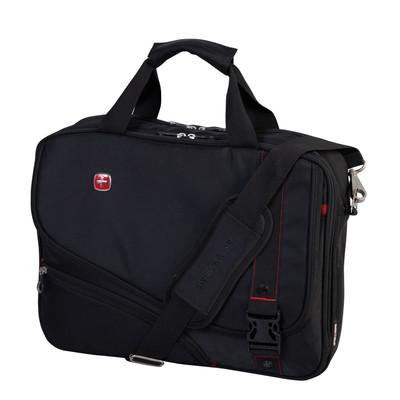 "Swiss Gear Double Gusset 15.6"" Top Load Computer Bag"