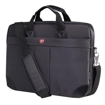 """Swiss Gear 15.6"""" Ultraslim Nylon Notebook Bag"""