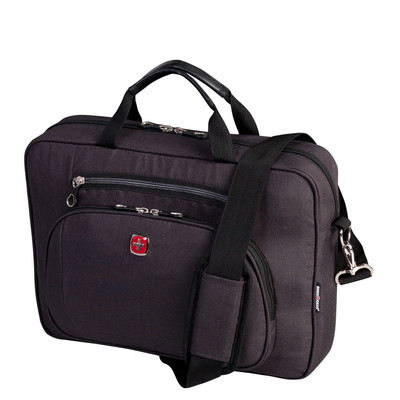 """Swiss Gear Top Load 14"""" Laptop Case with RFID Pocket"""