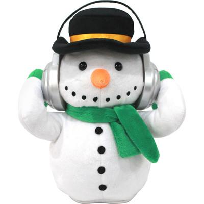 Dancing Adorable Snowman Portable Plush Bluetooth Communication Speaker (6944892020576)
