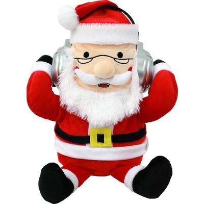 Adorable Dancing Santa Claus Portable Plush Bluetooth Communication Speaker (6944892020583)
