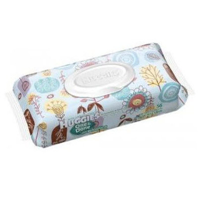 Huggies One & Done Refreshing Wipes 56 Wipes - Soft Pack