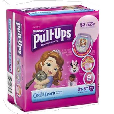Huggies Pull-Ups Training Pants Cool & Learn