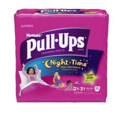 Huggies Pull-Ups Training Pants - Night Time - Girls