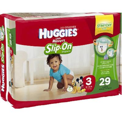 Huggies Little Movers Slip On - Jumbo Pack