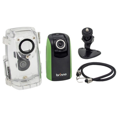 Brinno Time Lapse Construction Camera Bundle, with Wall Mount, Water Resistant Housing, and 4GB SD Card (BCC100)