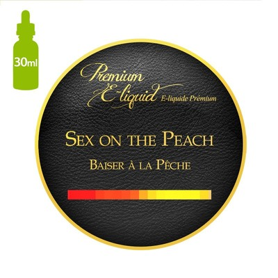 Sex On The Peach E-Liquid (10 bottles x 30ml) 0mg Nicotine