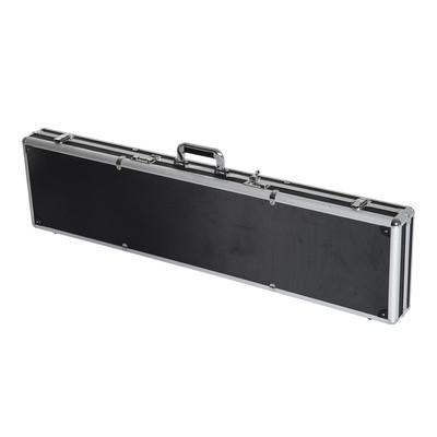 """44"""" Rifle Shotgun Aluminum Lockable Gun Case Black"""