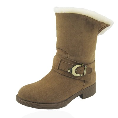 Comfy Moda Women's Winter Boots Australia 100% Genuine Shearling #6-11 in Chestnut