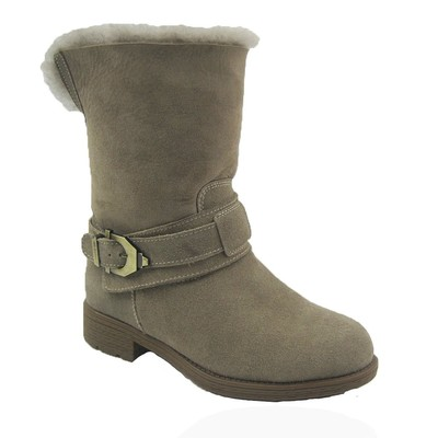 Comfy Moda Women's Winter Boots Australia 100% Genuine Shearling #6-11 in Taupe