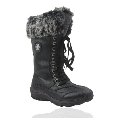Comfy Moda Women's Winter Boots Chicago #6-12 in Black