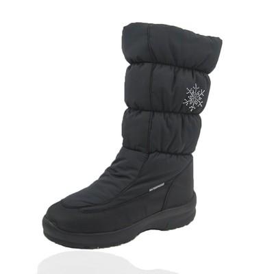 Comfy Moda Women's Winter Boots New York Waterproof #6-11 in Dark Grey
