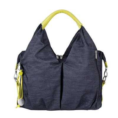 Lassig Neckline  Bag - Denim Blue