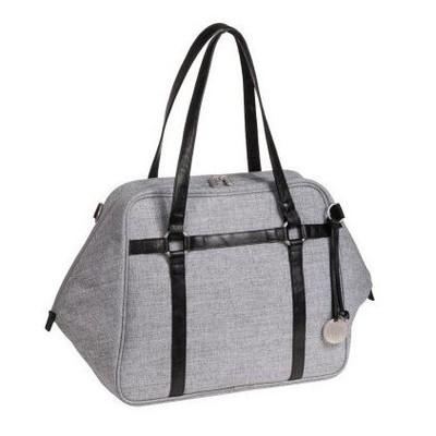 Lassig Urban Diaper Bag - Black Melange