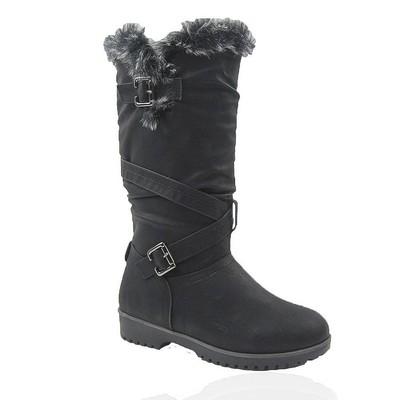 Comfy Moda Women's Winter Boots Waterloo #6-12 in Black