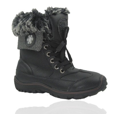 Comfy Moda Women's Winter Boots White Horse #6-11 in Black