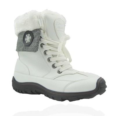 Comfy Moda Women's Winter Boots White Horse #6-11 in White