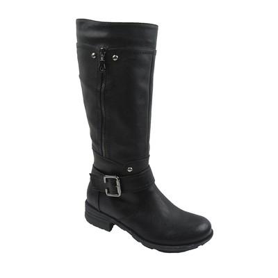 Women Winter Boots Comfy Moda Meggie Wool Lining Size 6-12 in Black