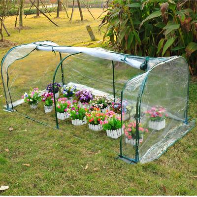 6.6x3.3x2.6ft Portable Backyard Flower Garden Greenhouse