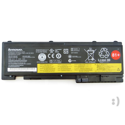 New genuine Lenovo 6 cell battery (81+) (82+) (66+) for ThinkPad T420s/T420si, ThinkPad T430s/T430si (LEN-81+)