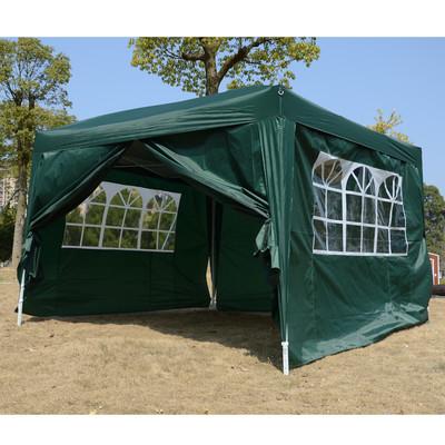 10' x 10'  Pop Up Gazebo Party Wedding Tent Canopy Green