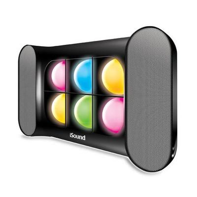 iGlowSound Pro Wireless Bluetooth Speaker - Black (845620052578)