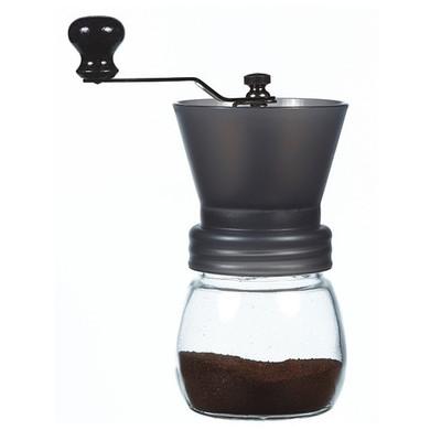 Grosche Bremen Manual Ceramic Burr Coffee Grinder, Black, 100g